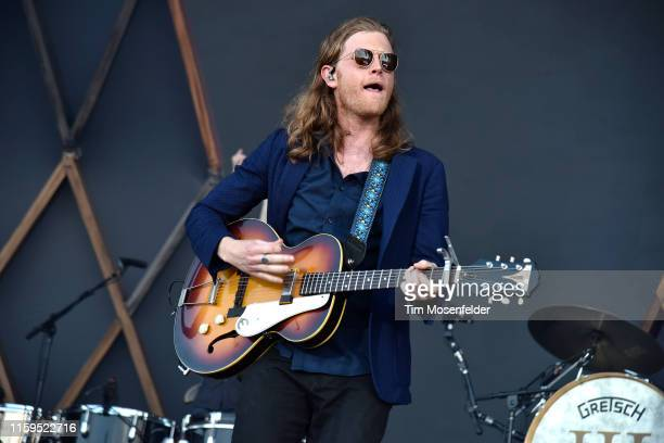 Wesley Schultz of The Lumineers performs during the 2019 Bonnaroo Music Arts Festival on June 16 2019 in Manchester Tennessee