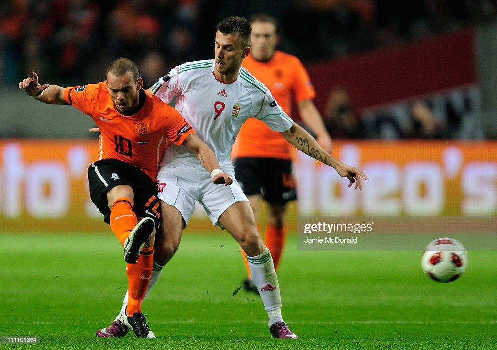 Netherlands v Hungary - EURO 2012 Qualifier