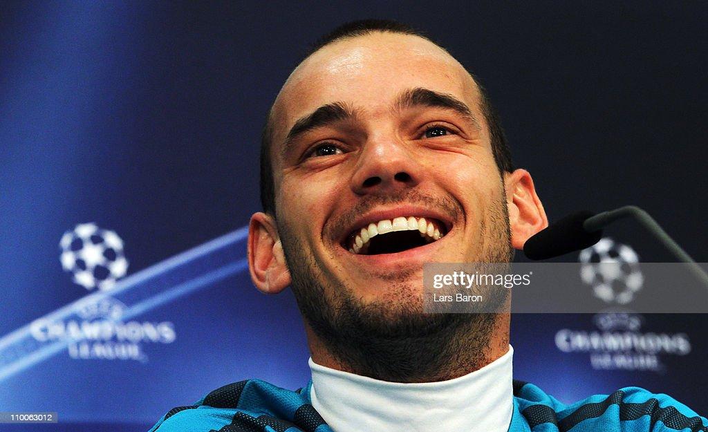 Inter Milan - Training & Press Conference