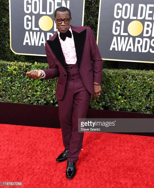 Wesley Snipes arrives at the 77th Annual Golden Globe Awards attends the 77th Annual Golden Globe Awards at The Beverly Hilton Hotel on January 05,...