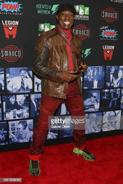 Wesley Snipes arrives for Excelsior A Celebration of The Amazing Fantastic Incredible and Uncanny Life Of Stan Lee at TCL Chinese Theatre on January...