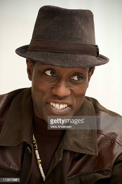 Wesley Snipes at the Brooklyn's Finest press conference at the Four Seasons Hotel on March 4 2010 in Beverly Hills California