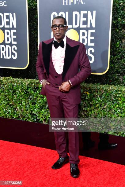 Wesley Snipes attends the 77th Annual Golden Globe Awards at The Beverly Hilton Hotel on January 05 2020 in Beverly Hills California