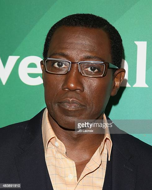 Wesley Snipes attends the NBCUniversal press tour 2015 at the Beverly Hilton Hotel on August 13 2015 in Beverly Hills California