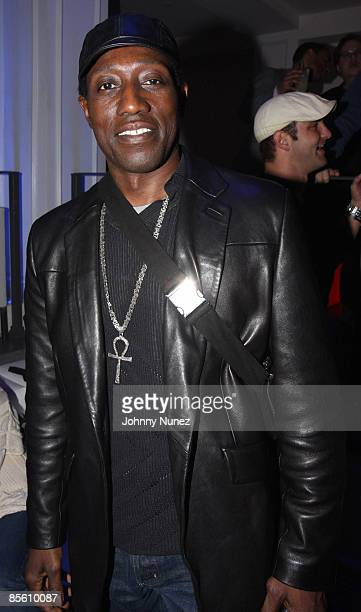 ca3955fe5b3b Wesley Snipes attends Timbaland s Grammy Party Presented by Verizon  Blackberry on February 6 2009 in Los