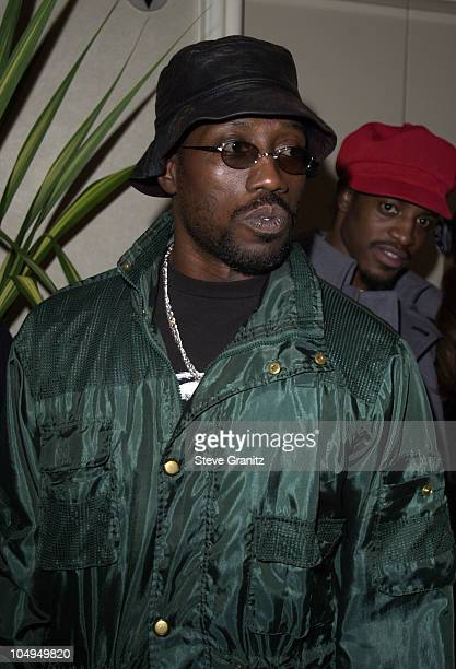 Wesley Snipes during The 28th Annual American Music Awards Arista Records After Party at St Regis Hotel in Century City California United States