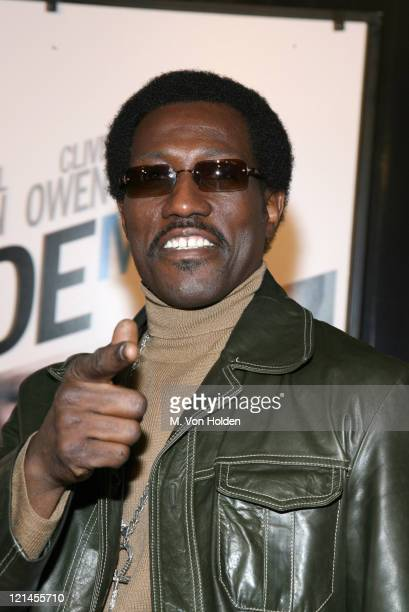 """Wesley Snipes during The World Premiere of the """"Inside Man"""" at Ziegfeld Theatre in New York, New York, United States."""