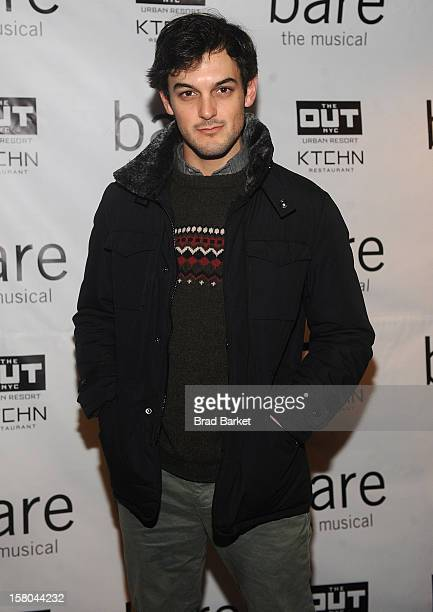 Wesley Taylor attends BARE The Musical Opening Night at New World Stages on December 9 2012 in New York City