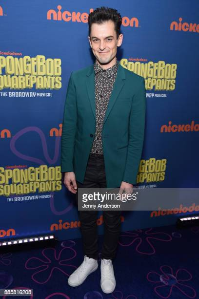 Wesley Taylor attends opening night of Nickelodeon's SpongeBob SquarePants The Broadway Musical after party at Ziegfeld Ballroom on December 4 2017...