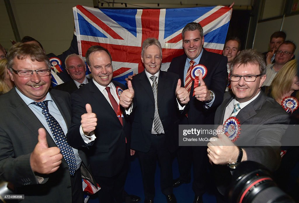 Nigel Dodds Attends His Constituency Declaration