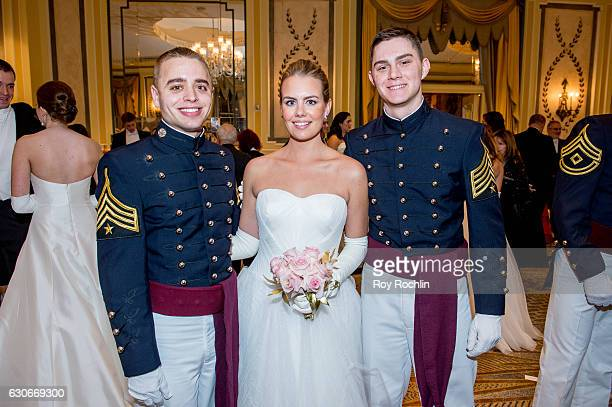 Wess Mediros Debutante Elizabeth Anne Carl and Grant Chucksol cattends the 62th International Debutante Ball at The Pierre Hotel on December 29 2016...