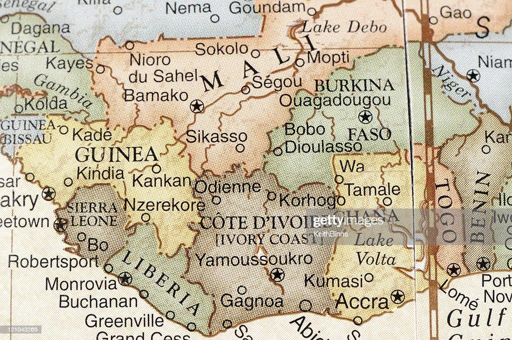 África del oeste : Foto de stock
