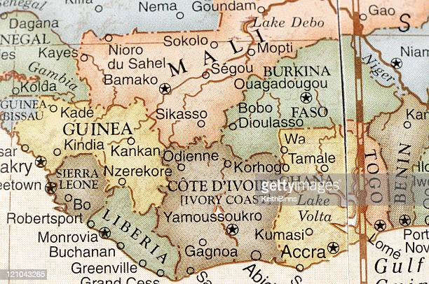 west africa - guinea stock pictures, royalty-free photos & images