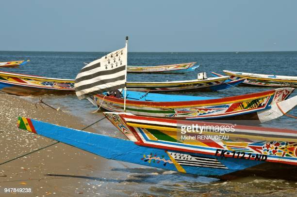 West Africa Senegal Sine Saloum Dionewar Hotel Delta Niominka Afrique de l'Ouest Senegal Sine Saloum Nidior Hotel Delta Niominka