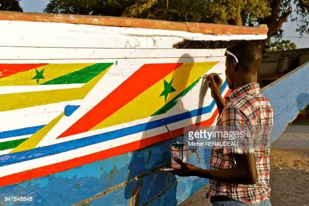 West Africa Senegal Sine Saloum Island Dionewar Afrique de l'Ouest Senegal Sine Saloum ile de Dionewar