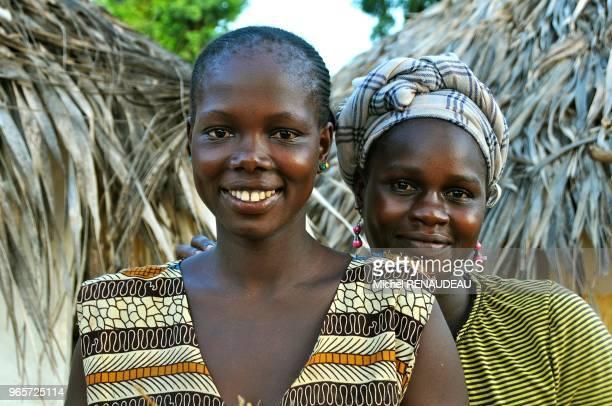 West Africa Senegal Sine Saloum woman Serere Afrique de l'ouest Senegal Sine Saloum femme Serere
