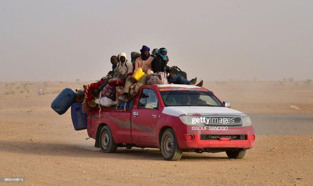 NIGER-LIBYA-EUROPE-MIGRATION : News Photo