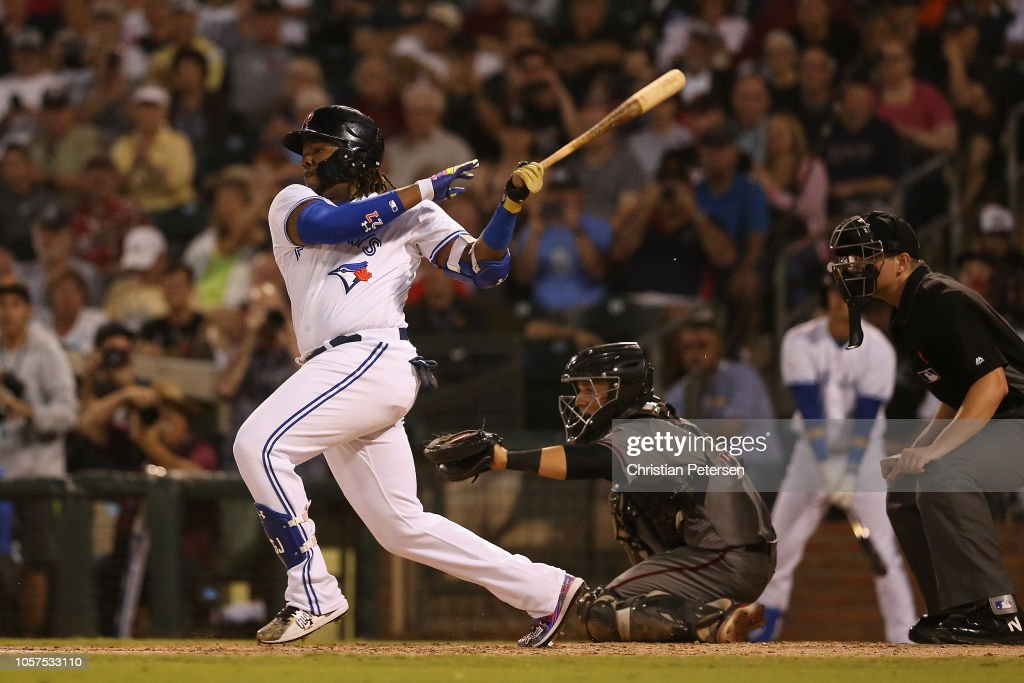 Arizona Fall League All Star Game : News Photo