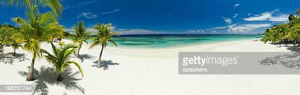 west bay beach, vista panorámica - mar caribe fotografías e imágenes de stock