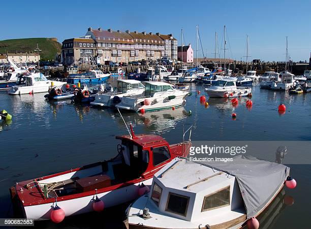 West Bay Harbor also known as Bridgeport arbor Dorset UK
