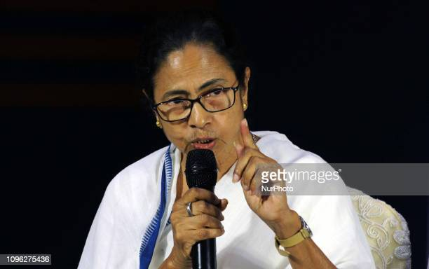 West Bengal Chief Minister and All India Trinamool Congress Supremo Mamata Banerjee at the Press Conferences and hit out at Prime Minister Narendra...