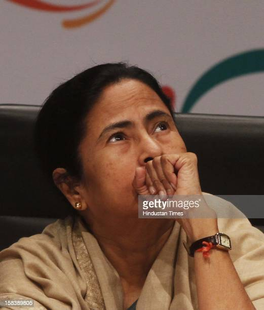 West Bengal Chief Minister Mamata Banerjee during the inauguration of the Federation of Indian Chambers of Commerce and Industry 85th Annual General...