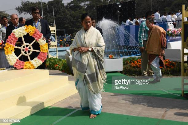West Bengal Chief Minister Mamata Banerjee on Tuesday hit out at the Centre for not declaring Netaji Subhas Chandra Bose's birthday a national...