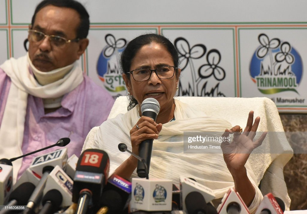 IND: Press Conference Of West Bengal Chief Minister Mamata Banerjee In Kolkata