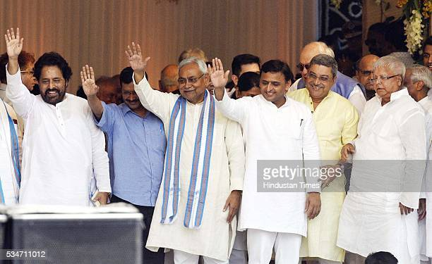 West Bengal Minister Sudip Bandyopadhyay Delhi Chief Minister Arvind Kejriwal Bihar Chief Minister Nitish Kumar Uttar Pradesh Chief Minister Akhilesh...