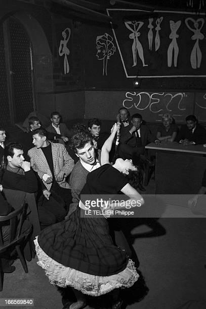 West Berlin In 1958 En Allemagne fédérale dans le secteur occidental de BerlinOuest occupé par les français les américains et les anglais dans la...