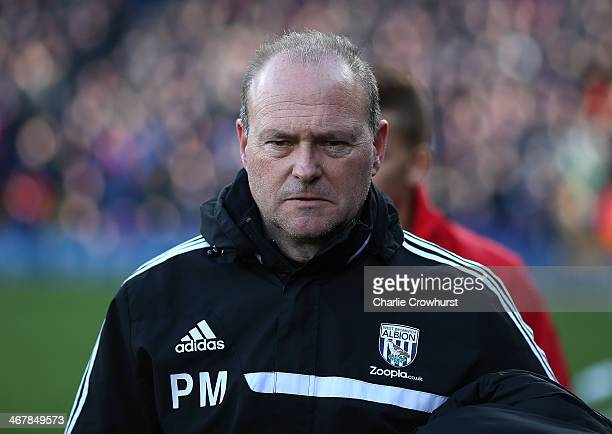 West Brom manager Pepe Mel looks on during the Barclays Premier League match between Crystal Palace and West Bromwich Albion at Selhurst Park on...