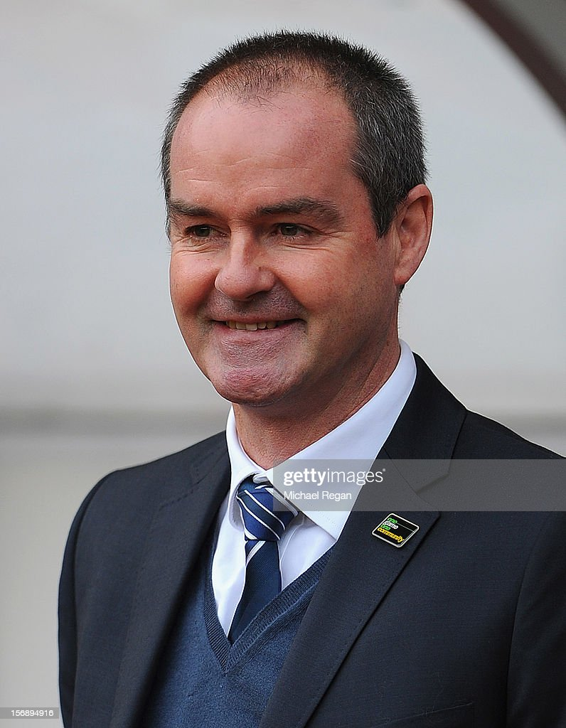 West Brom manager Steve Clarke looks on during the Barclays Premier League match between Sunderland and West Bromwich Albion at the Stadium of Light on November 24, 2012 in Sunderland, England.