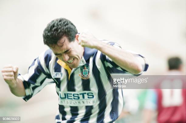 West Bromwich Albion 1-0 Burnley, league match at The Hawthorns, Saturday 24th September 1994.