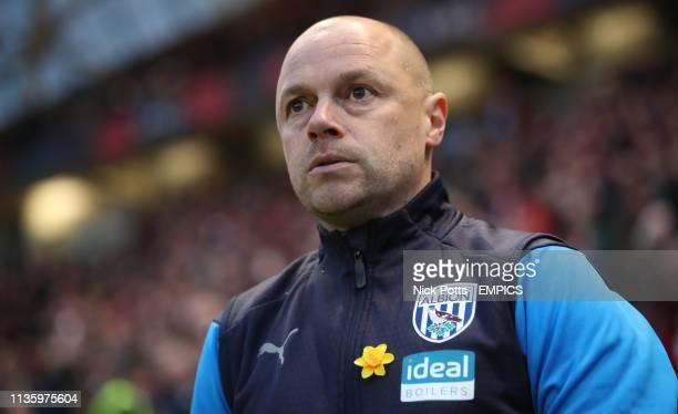 West Bromwich Albion caretaker head coach James Shan Bristol City v West Bromwich Albion - Sky Bet Championship - Ashton Gate Stadium .