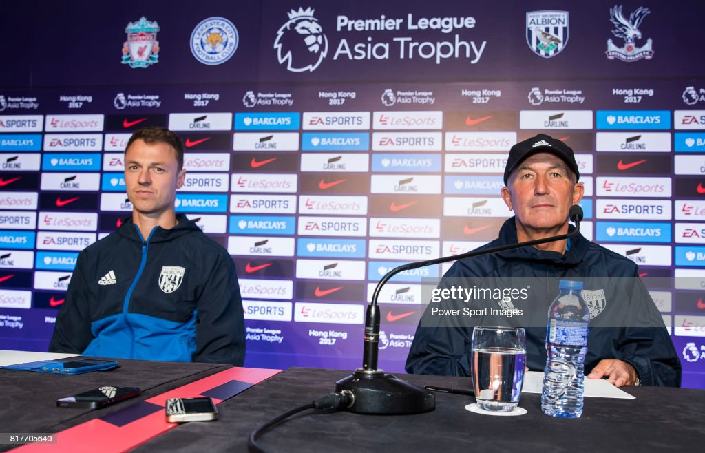 Premier League Asia Trophy 2017 Pre-Match Press Conferences : News Photo