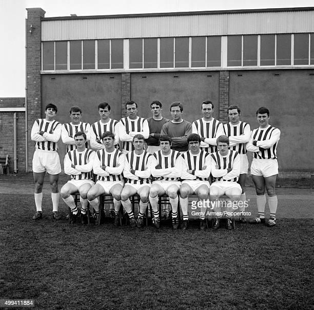 West Bromwich Albion football team 15th March 1968 Back row Graham Lovett John Kaye Eddie Colquhoun John Talbut John Osborne Dick Sheppard Jeff Astle...