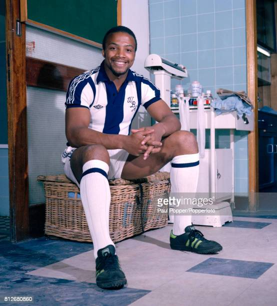 West Bromwich Albion footballer Cyrille Regis circa August 1979