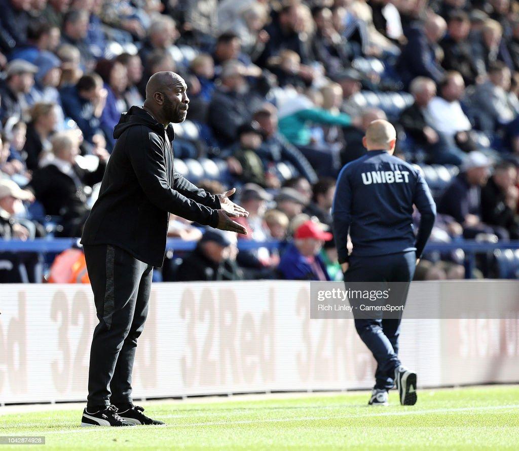Preston North End v West Bromwich Albion - Sky Bet Championship : News Photo