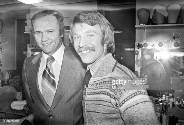 West Bromwich Albion manager Ron Atkinson and David Mills a new signing 7th January 1979
