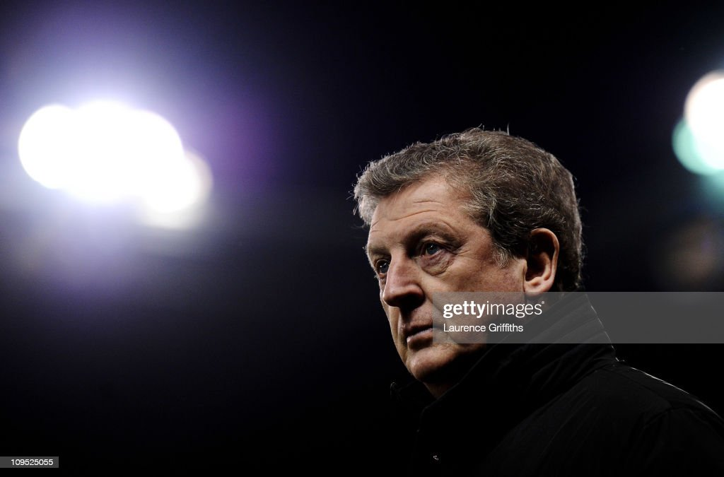 West Bromwich Albion Manager Roy Hodgson looks on prior to the Barclays Premier League match between Stoke City and West Bromwich Albion at The Britannia Stadium on February 28, 2011 in Stoke on Trent, England.