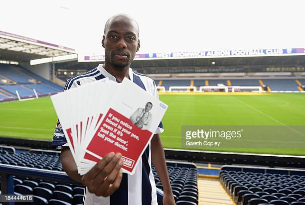 West Bromwich Albion midfielder Youssouf Mulumbu supports the Be Clear on Cancer campaign launching today to raise awareness of the signs and...