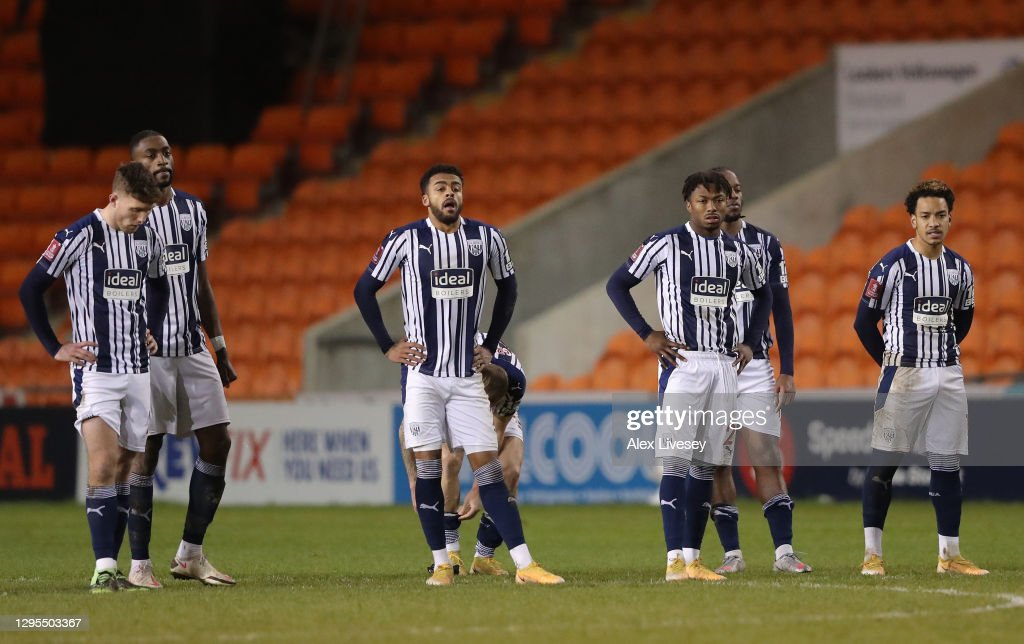 Blackpool v West Bromwich Albion - FA Cup Third Round : News Photo