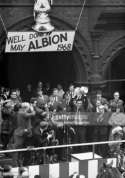 West Bromwich Albion return home with the trophy the day after winning the FA Cup at Wembley Stadium with a 10 victory over Everton after extratime...