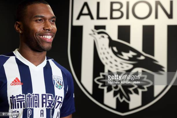 West Bromwich Albion sign Daniel Sturridge on loan from Liverpool on January 29, 2018 in West Bromwich, England.