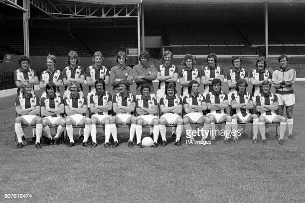 West Bromwich Albion team group John Trewick Trevor Thompson Brian Clarke Ian Edwards Robert Ward John Osbourne Joe Mayo Bryan Robson Alister Brown...