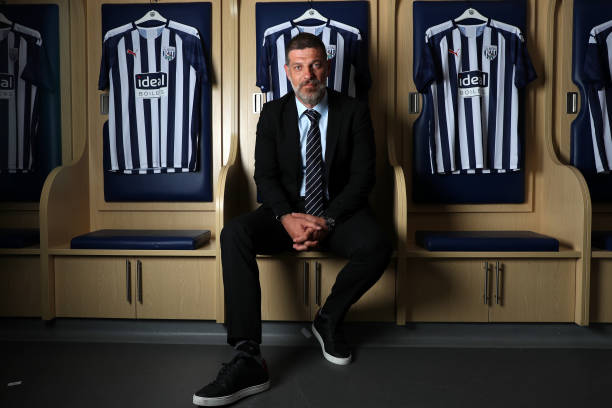 GBR: New West Bromwich Albion Manager Slaven Bilic Arrives at the Club