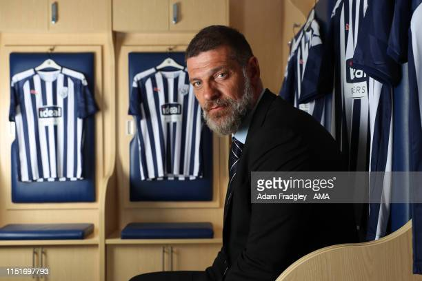 West Bromwich Albion unveil new manager Slaven Bilic on June 24, 2019 in West Bromwich, England.