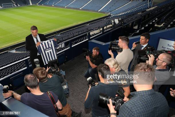 West Bromwich Albion unveil new manager Slaven Bilic on June 24 2019 in West Bromwich England