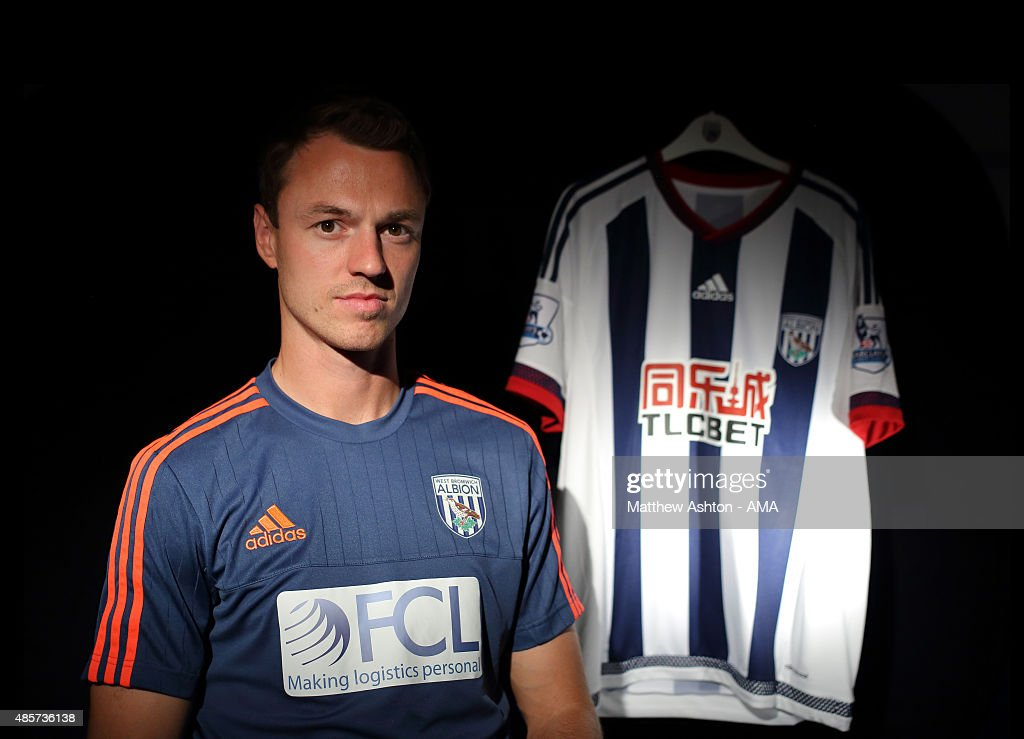 West Bromwich Albion Unveil New Signing Jonny Evans
