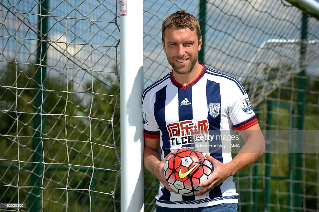 West Bromwich Albion Unveil New Signing Rickie Lambert : News Photo